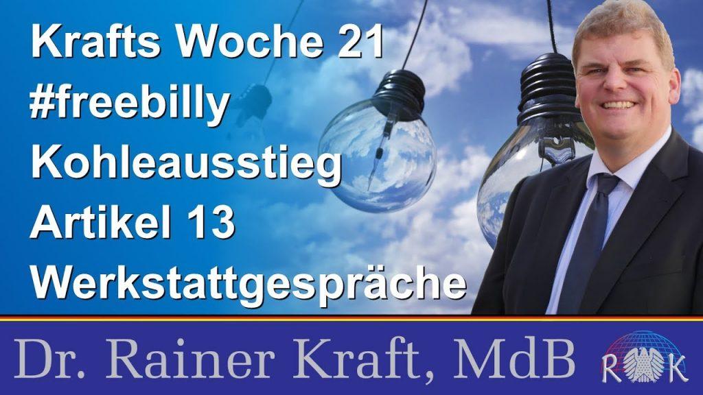 Krafts Woche 21: Bericht aus dem Bundestag