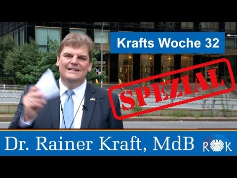 Dr. Rainer Kraft beim High Level Political Forum in New York – Krafts Woche 32