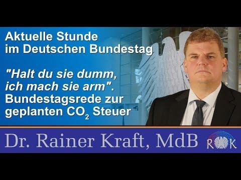 """""""Halt du sie dumm, ich mach sie arm!"""" – Bundestagsrede vom 9. Mai 2019"""