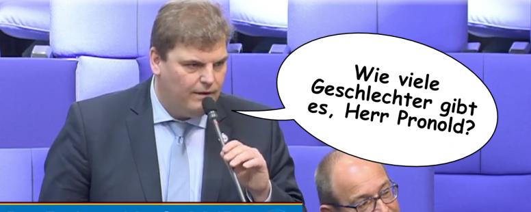 Neues Video: Rainer Kraft befragt Florian Pronold. Wie viele Geschlechter gibt es eigentlich?