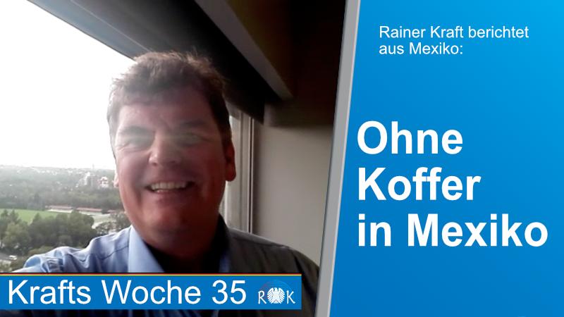 Video: Rainer Kraft berichtet aus Mexiko über Kriminalität, Korruption und mehr.