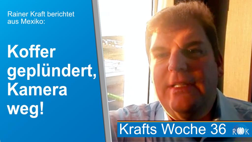 Rainer Kraft: Deutsche Unternehmen in Mexiko, Kriminalität in Chihuahua und mehr.