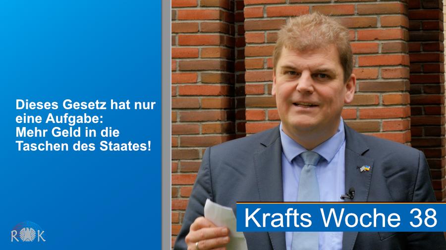 Zwei Skandale im Bundestag. Rainer Kraft berichtet über denkwürdige Vorgänge im Parlament.
