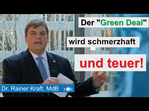 Frans Timmermans im Bundestag: Der Green Deal wird teuer und schmerzhaft!