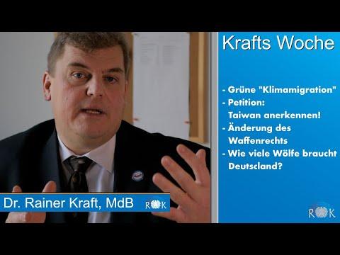 """Rainer Kraft über grünen Irrsinnsantrag zur """"Klimamigration"""" und weitere Themen"""