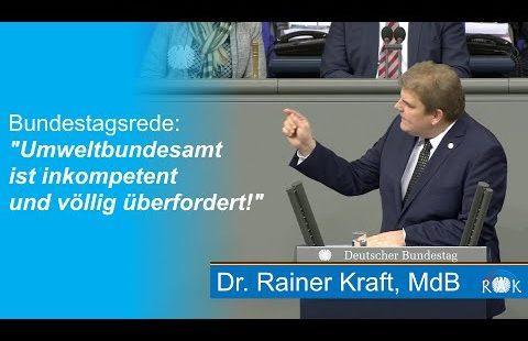 Haushaltsdebatte im Bundestag: Das Bundesumweltministerium ist heillos überfordert. Rainer Kraft