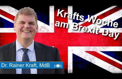Krafts Woche am Brexit-Day: Danke, Nigel Farage!