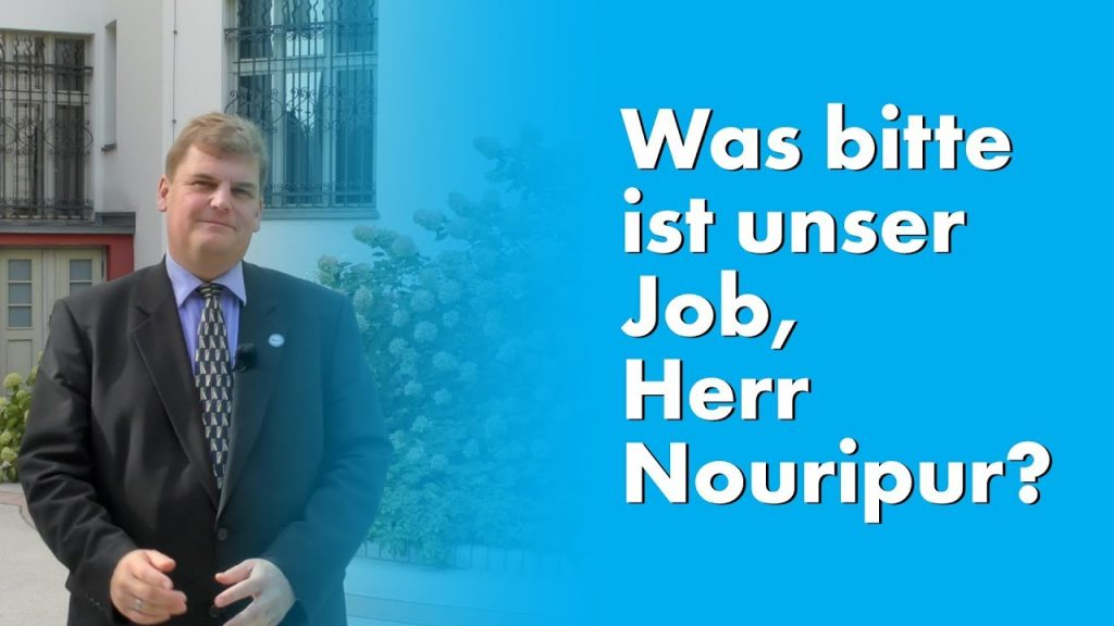 Zwischenruf: Was bitte ist unser Job, Herr Nouripour?