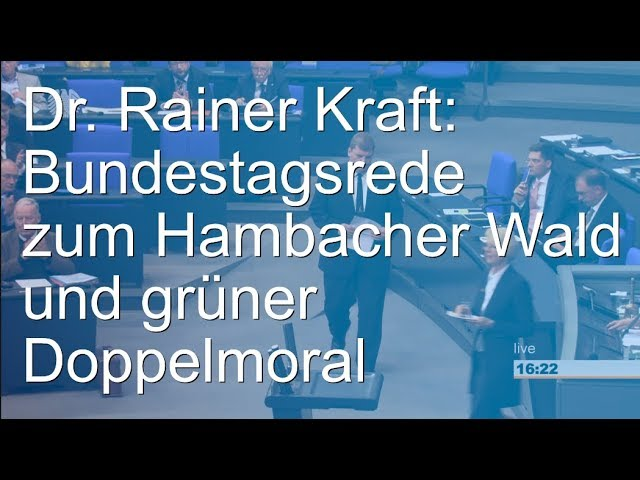 Bundestagsrede vom 10. Oktober 2018
