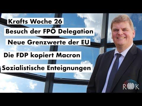 Krafts Woche 26 – Bericht aus dem Deutschen Bundestag