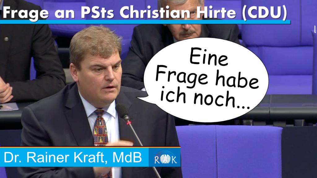 Rainer Kraft befragt Christian Hirte: Wo kommt der Strom her, wenn Windräder stillgelegt werden?