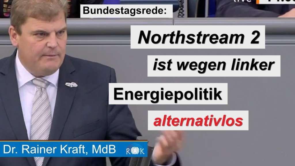 Bundestagsrede: Die desaströse Energiepolitik der letzten 20 Jahre macht Erdgasimporte alternativlos
